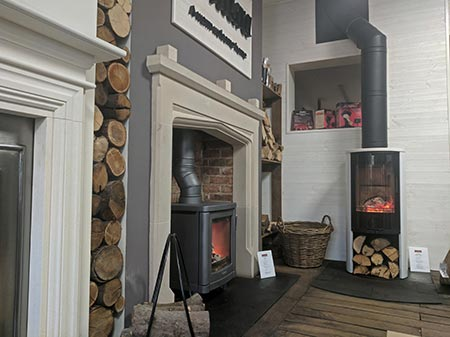 Fireplace shop serving Chelmsford