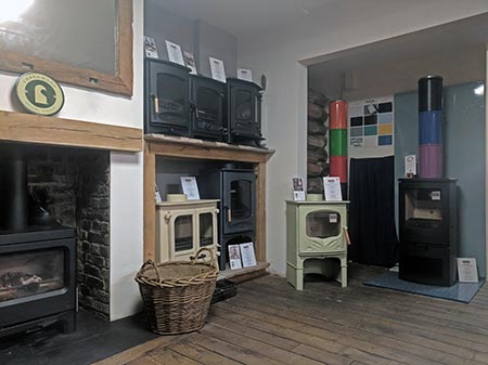 Fireplace shop in Southend