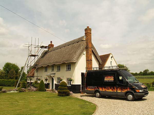 Chimney liners for Thatched roofs