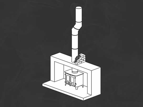 Anki pumice Chimney design