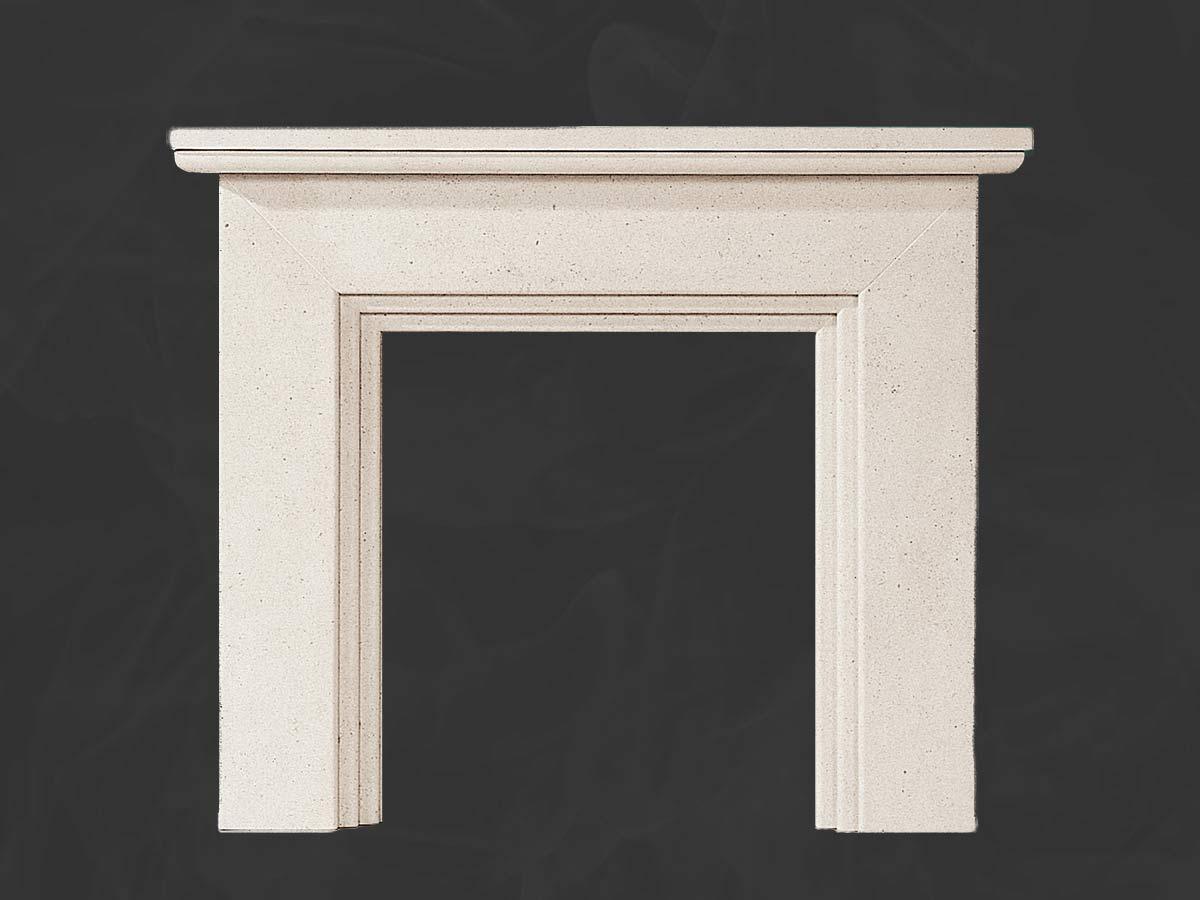 Caldicott Stone fireplace Mantel