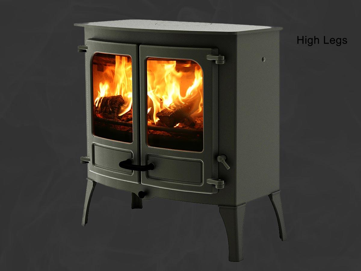 Charnwood island 3 high leg stove