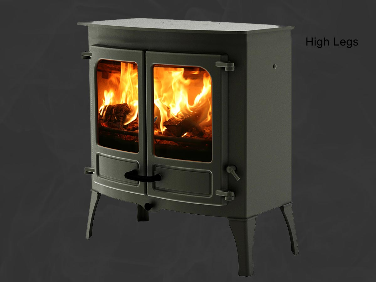 Charnwood island 3b boiler stove High legs