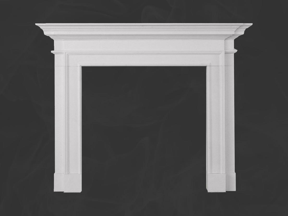 Sandringham Limestone Fireplace Mantel