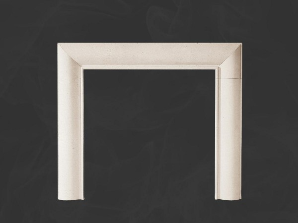Braemar Stone Fireplace Mantel