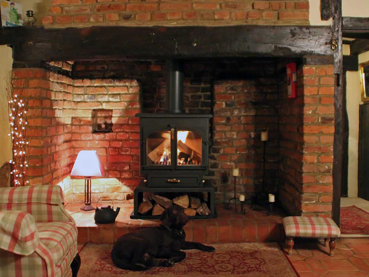 Essex inglenook with Clearview 650
