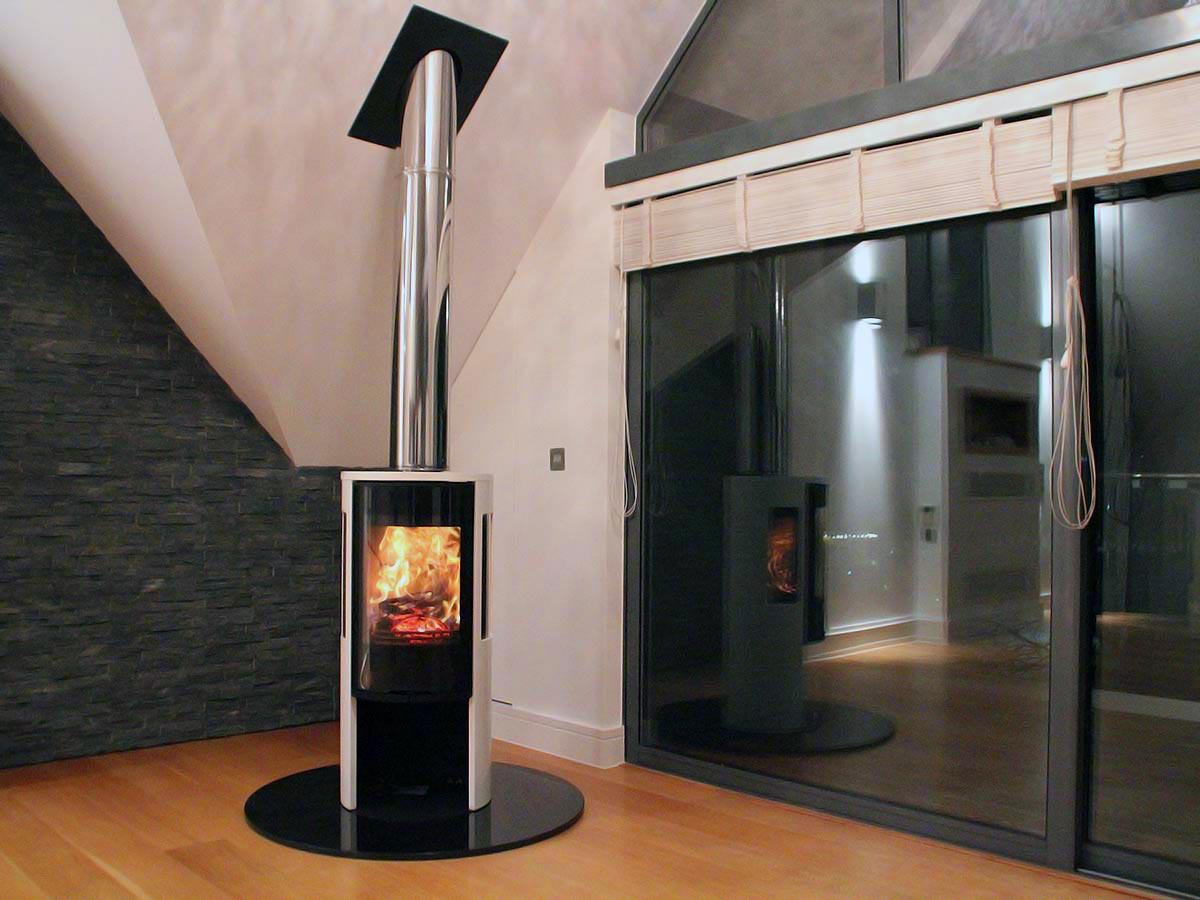Contura 556G modern fireplace