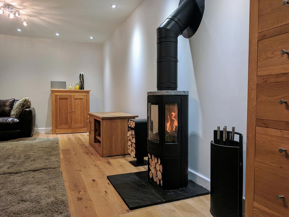 Contura 850 fireplace