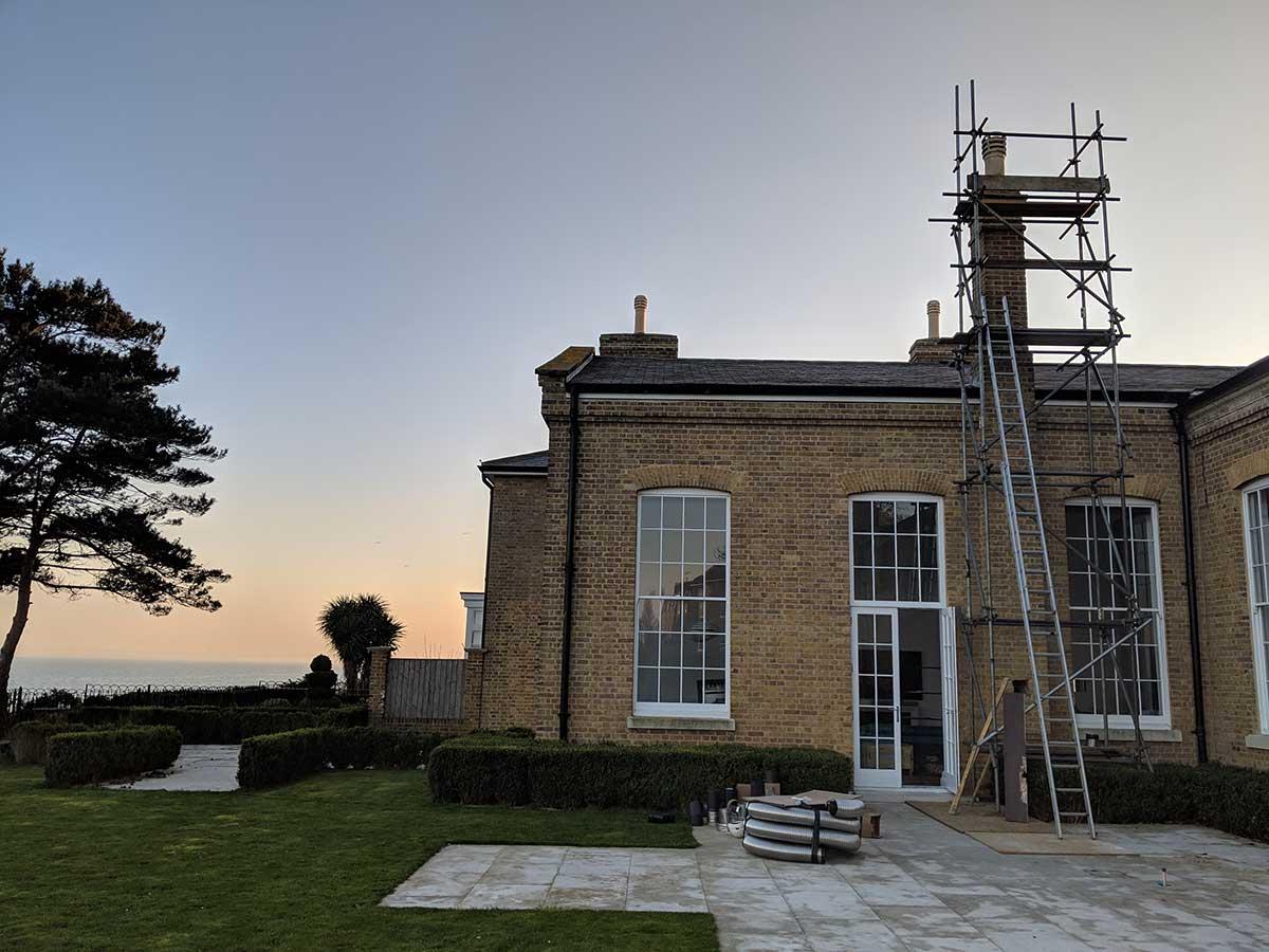 Victorian chimney engineer