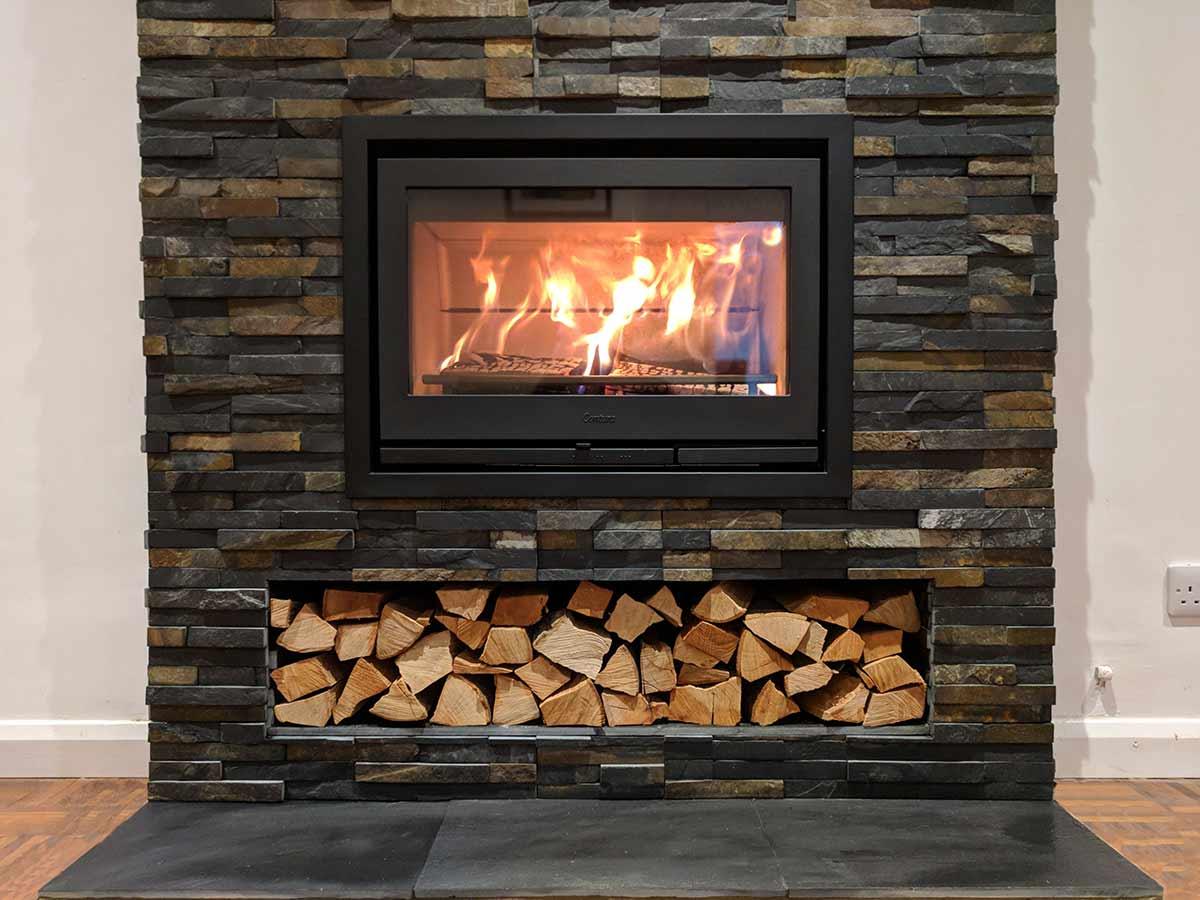 Contura i7 insert stove fireplace