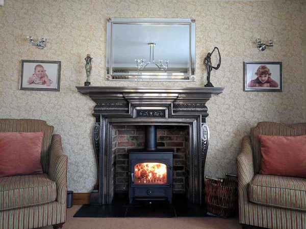 Cast iron Mantel fireplace design