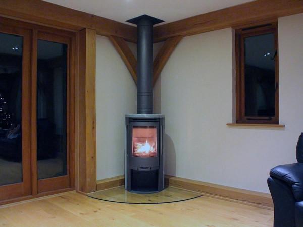 Contura 520T stove installation