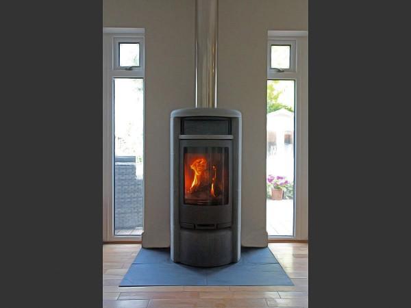 Contura 620T wood stove install