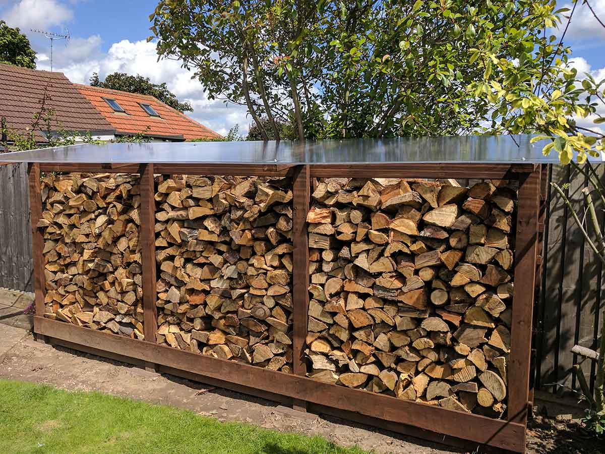 outside log storage